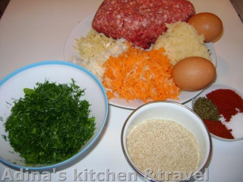 ingrediente chiftelute cu susan