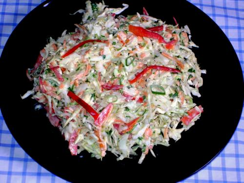 salata coleslaw