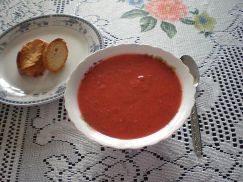 supa crema de legume cu ghimbir