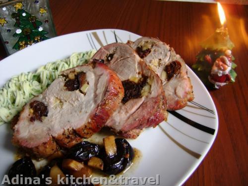 ceafa de porc la cuptor, friptura la cuptor