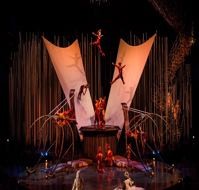 Cirque du Soleil - VAREKAI, spectacol impresionant la Bucuresti