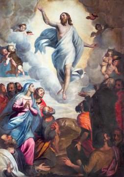 Inaltarea Domnului, Iisus, Hristos s-a inaltat