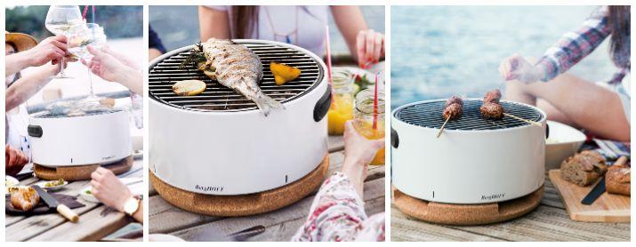 grill portabil pentru grătar reușit