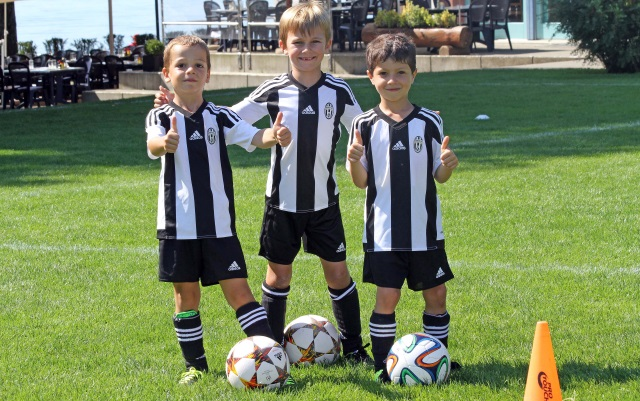 Juventus Torino Training Camp