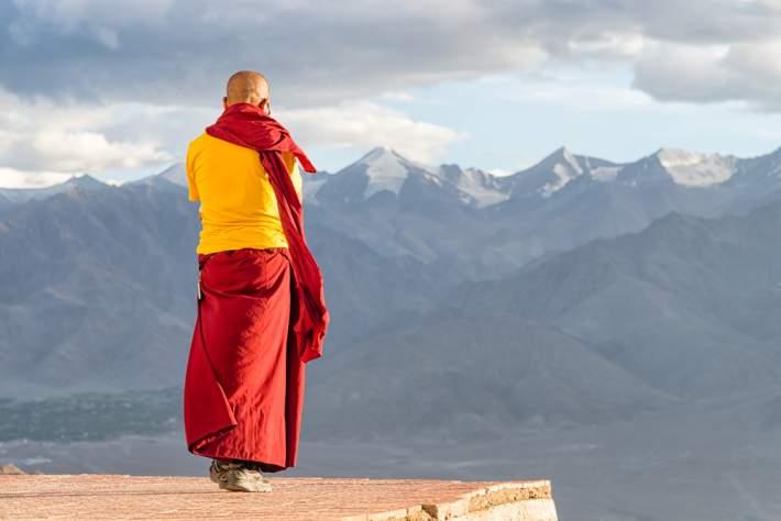 calugar tibetan, intelepciune tibetana, Tibet