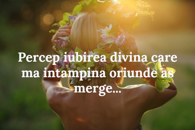 iubire, rugaciune, afirmatii pozitive