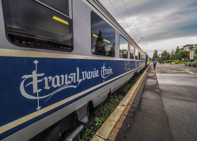Transilvania train, tren turistic