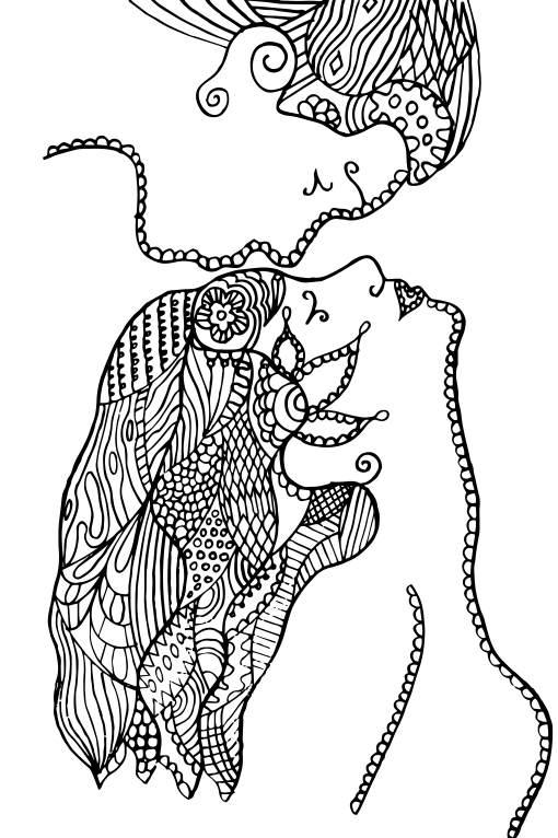 sarut pe frunte