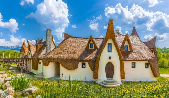 Castelul de lut, Valea zanelor