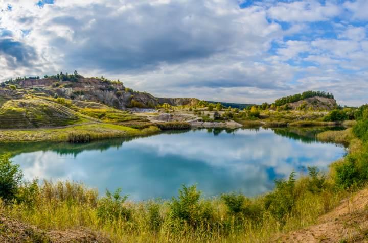 laguna albastra, transilvania