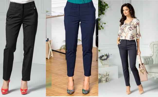 pantaloni office clasici