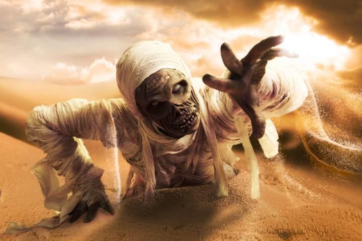 mumii, Halloween