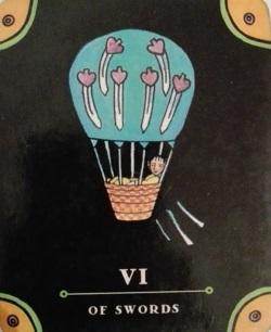 tarot, taroscop, 6 de spade, manifest tarot