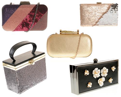 clutch-uri cu aplicații tip bijuterie