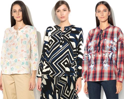tunici cu imprimeuri etnice boho și geometrice