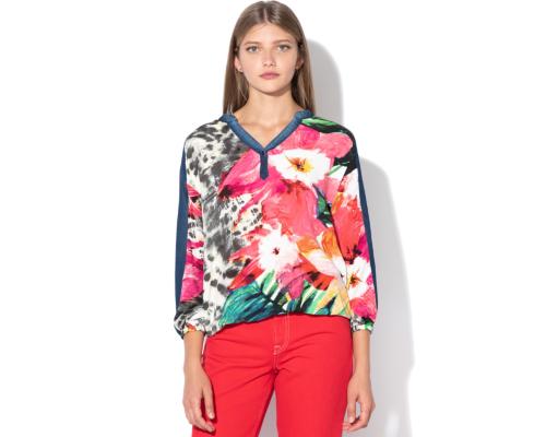 tunică imprimeu floral
