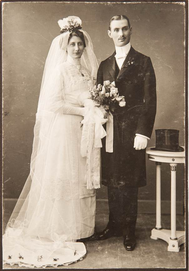 rochie de mireasa 1910, mireasa 1910
