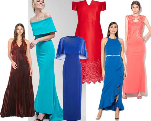 rochii de seară colorate