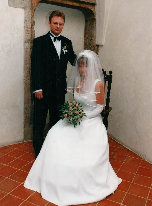 cuplu anii 90, mireasa 1990