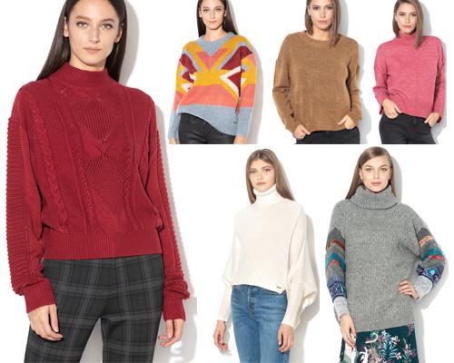 pulovere pentru iarnă groase și călduroase