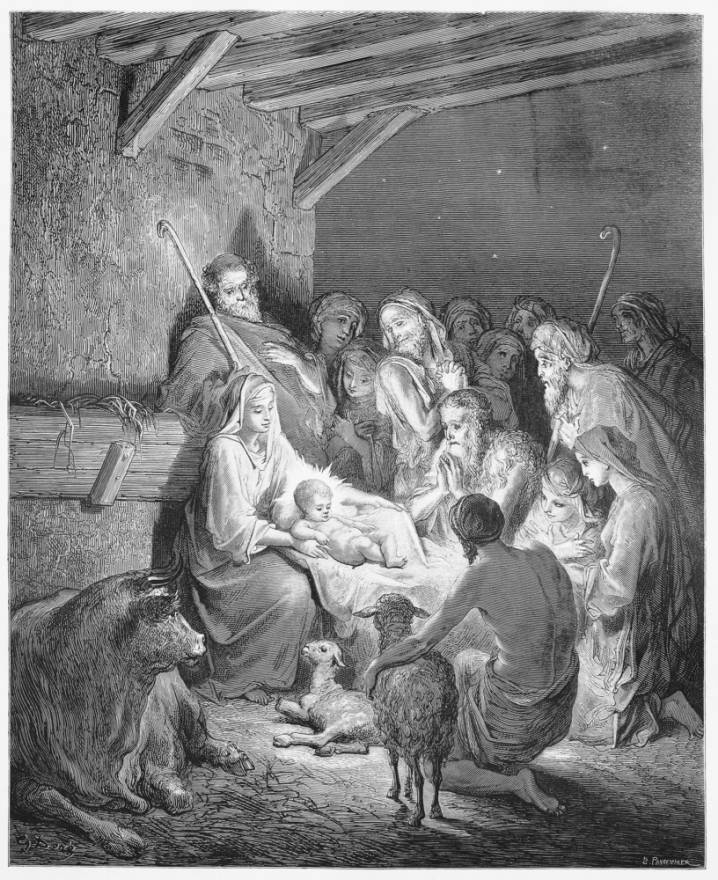 Iisus, nasterea lui Iisus, Craciun