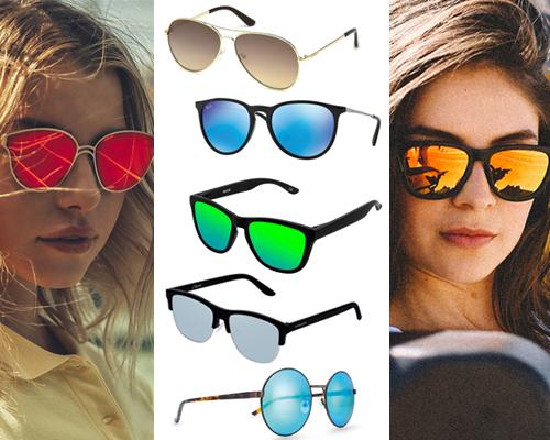 ochelari de soare cu lentilă tip oglindă inclusiv colorate