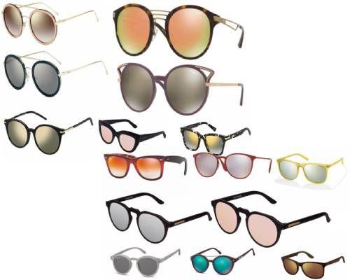 ochelari de soare cu efect de oglindă