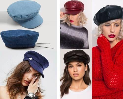 beretă franțuzească în stil retro