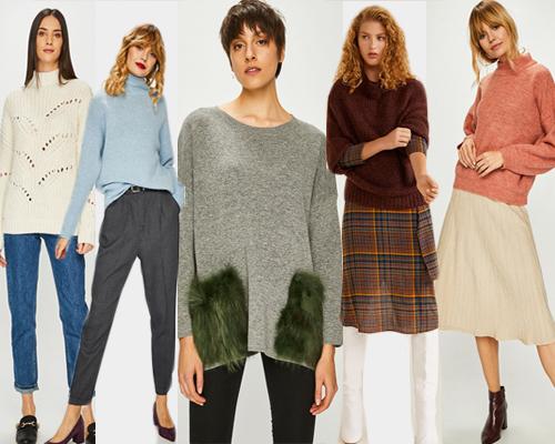 pulovere oversize perfecte pentru ținute de iarnă în straturi