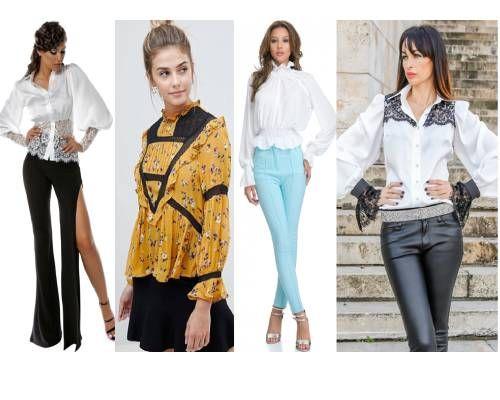 bluze de inspirație victoriană