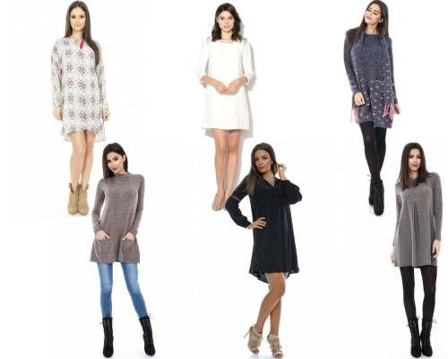 rochii stil tunică elegante de zi