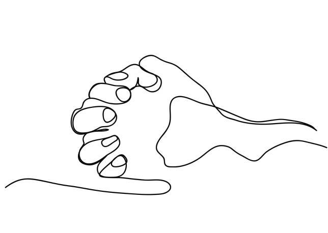 rugaciunea celor 5 degete, rugaciune, degete