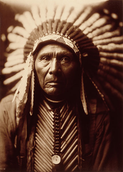 Edward S. Curtis, amerindieni, intelepciune