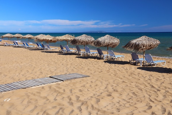 Gardenos Beach, Corfu