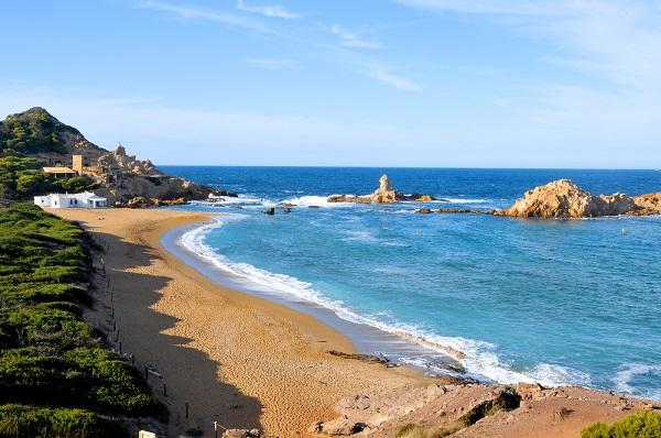 Cala Pregonda beach, Menorca