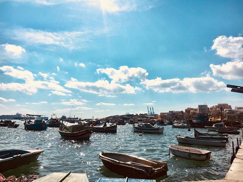 satul pescaresc malta