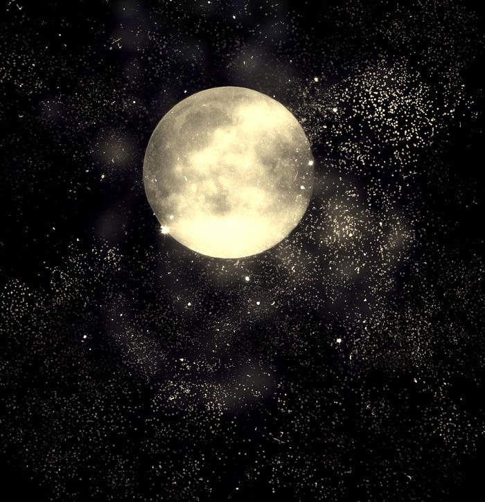 luna plina, luna rece, luna plina in Gemeni