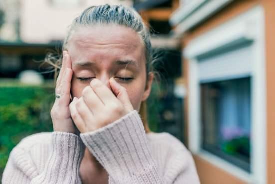sinuzita, durere de sinusuri