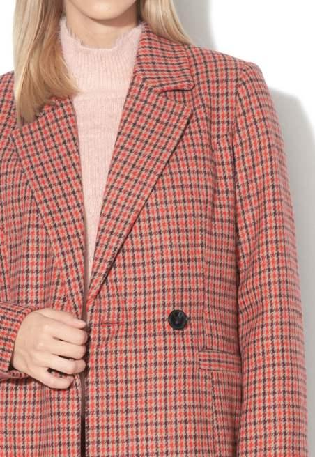 palton din amestec de lana