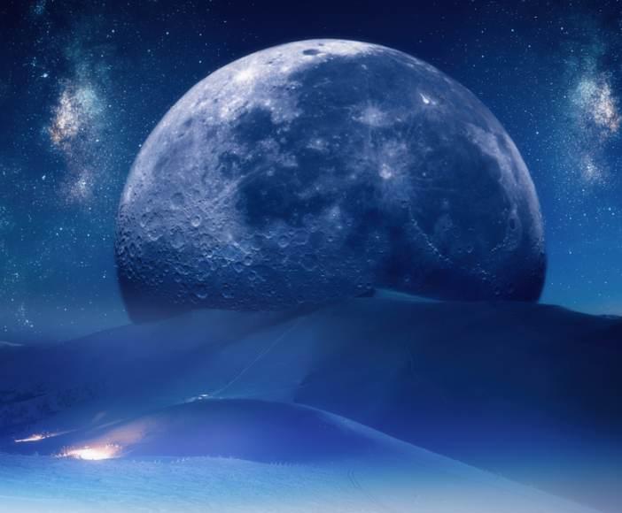 luna de zapada