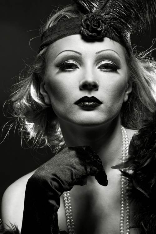 stilul Marlene Dietrich