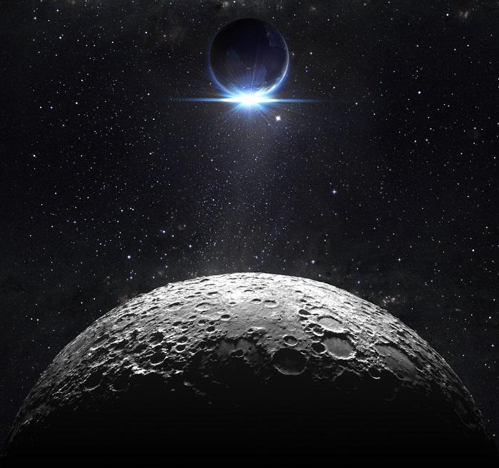 Luna si Pamantul