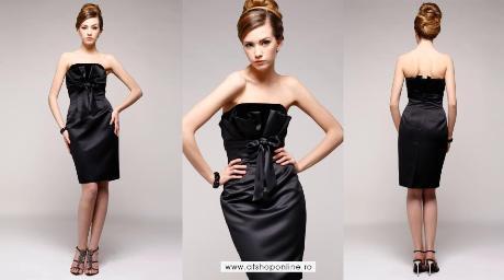 rochie de seara, vestimentatie de ocazie, Agnes Toma