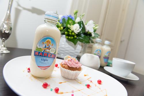 cupcake cu lapte condensat