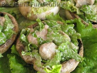 salata de pui in ciuperci