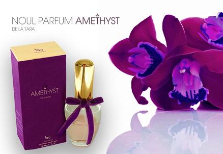 AMETHYST simbolizeaza eternul feminin, miracolul iubirii.