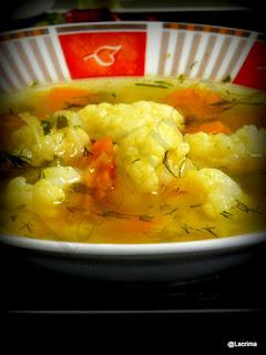 supa vegetariana de conopida