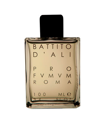 Brandul de nisa Profvmvm Roma a lansat parfumul denumit Battito d'ali