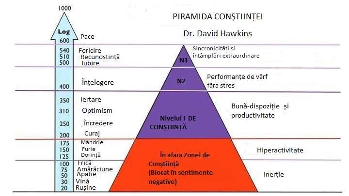 Piramida Constiintei; Constiinta