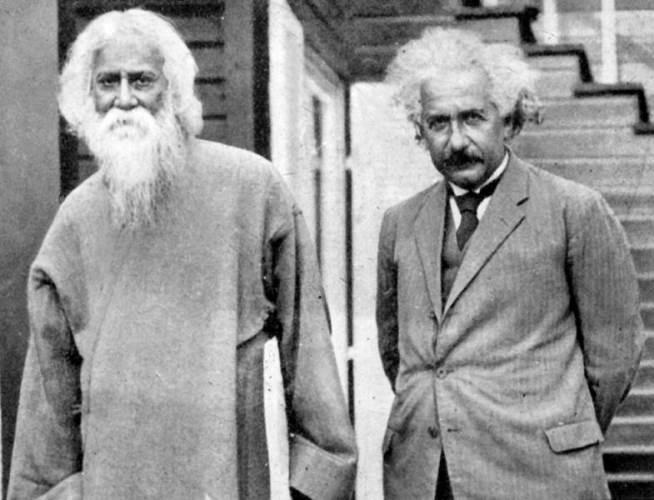 Albert Einstein, Rabindranath Tagore